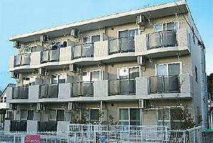 Casa de michelle(カーサデミシェール)<br /> 2006年9月竣工 <br /> 3階・1K・2LDK(計12戸)