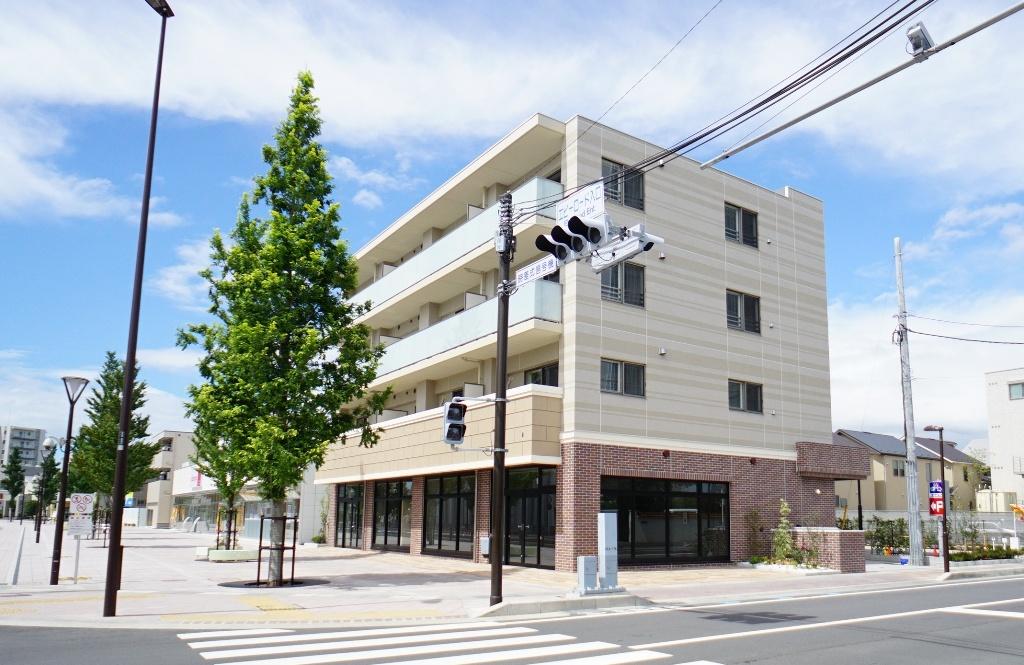 ビナ・グレース<br /> 地上4階・1LDK(3)・2LDK(6)・店舗<br />