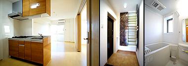 浴室乾燥機付きシステムバスや機能的なシステムキッチン<br /> ウォークインクローゼット等の収納、入居者に人気の設備・仕様も充実