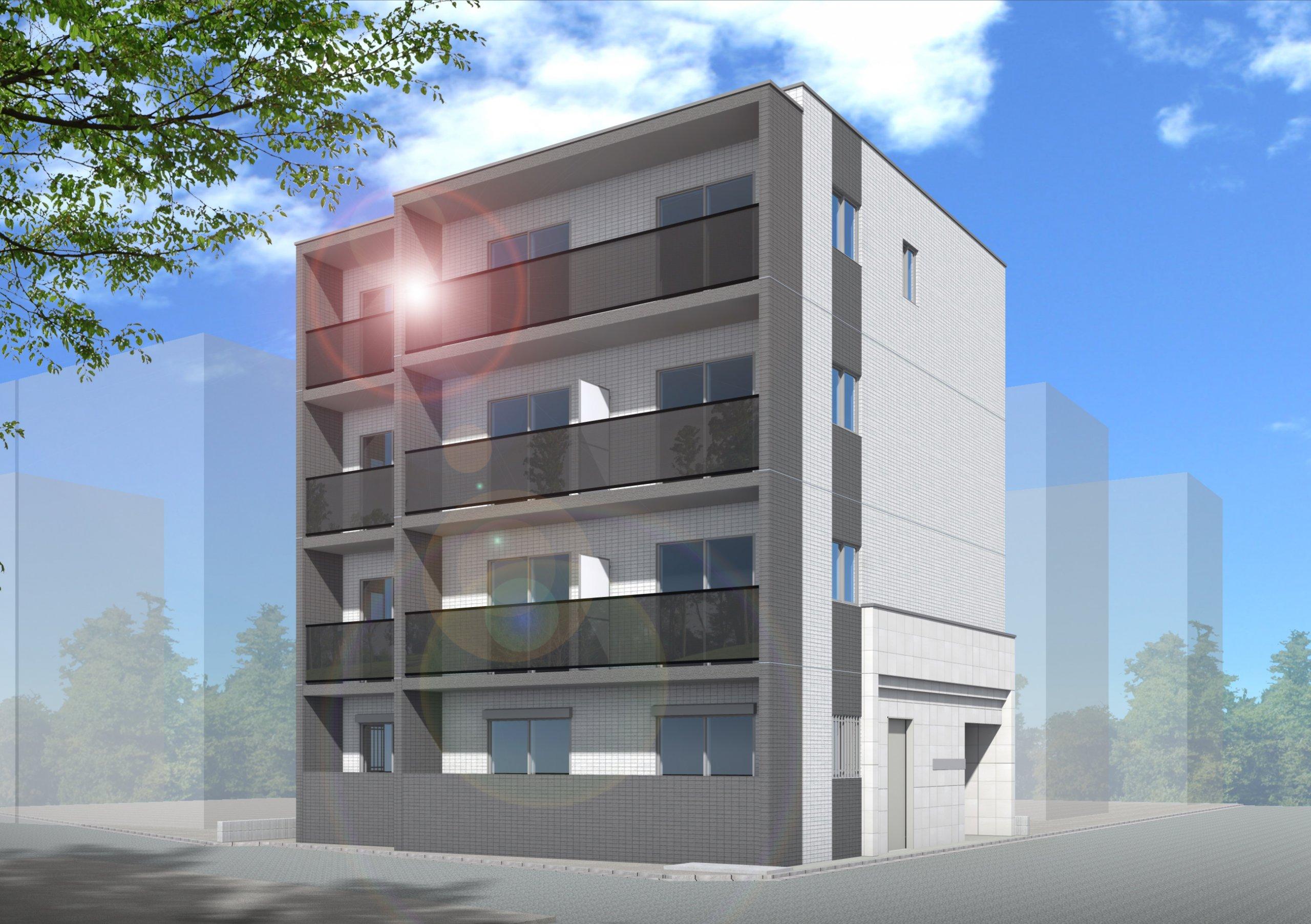 (仮称)鵜の木1丁目プロジェクト新築工事