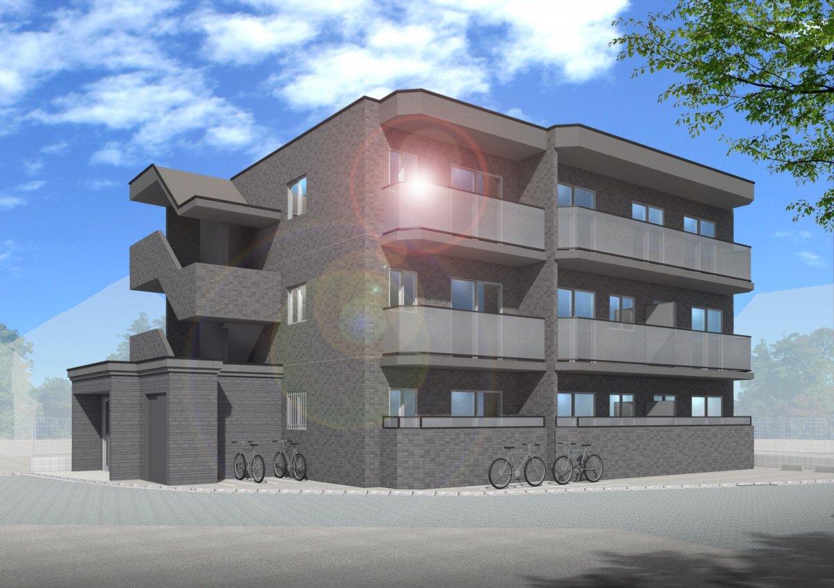自宅併用賃貸マンションの構造見学会