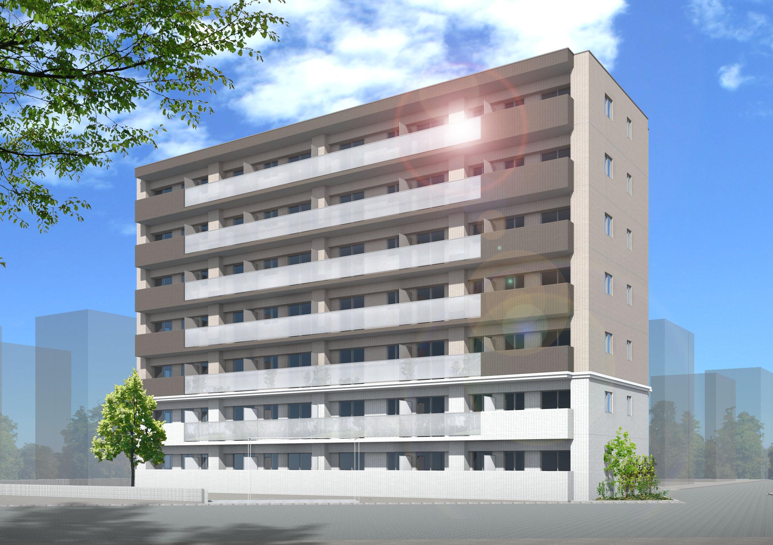 (仮称)上小田中3丁目マンション新築工事